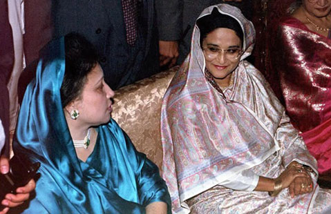 khaleda-hasina-meet-thereport24