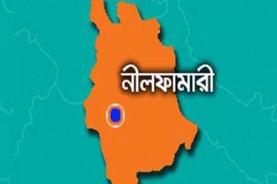 nilfamari map