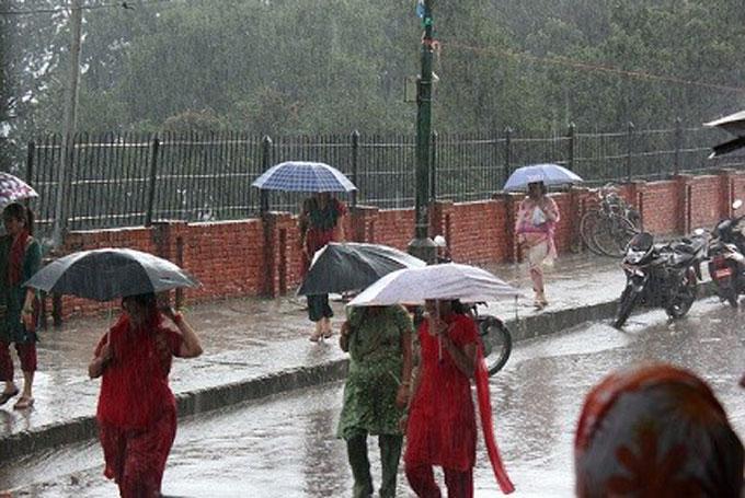 Nepal-rain