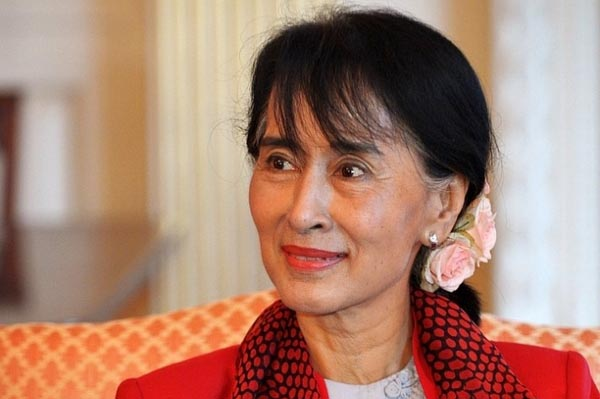 Myanmar's democracy movement leader and Nobel Laureate Aung San Suu Kyi in Washington, DC, on 18 septembrie 2012.