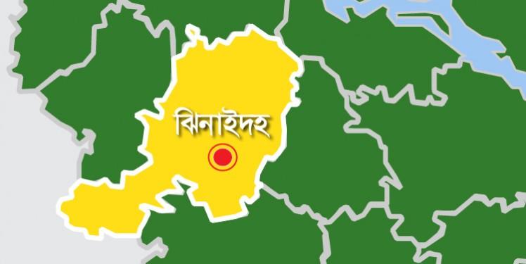 ঝিনাইদহ jhenidah map