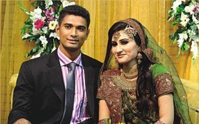 Mahmudullah-Wife