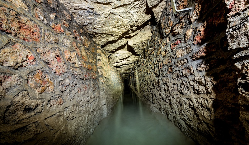 """The mines of Paris (carrières) comprise a number of abandoned, subterranean mines under Paris, France, connected together by galleries. The entire subterranean network is commonly but mistakenly referred to as """"the catacombs"""". Despite restrictions, Paris' former mines are frequently toured by urban explorers popularly called cataphiles."""