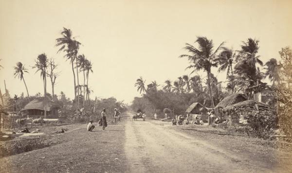 গ্রামাঞ্ছল-১৮৬০