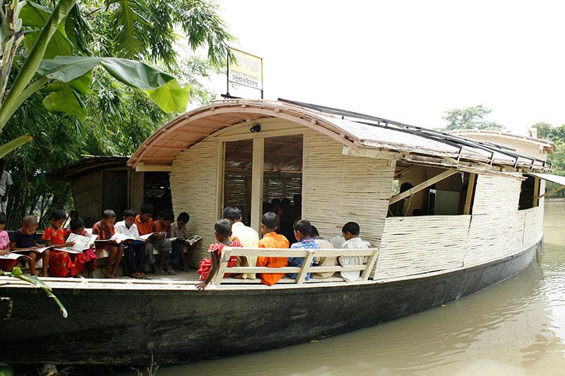 Boat-school