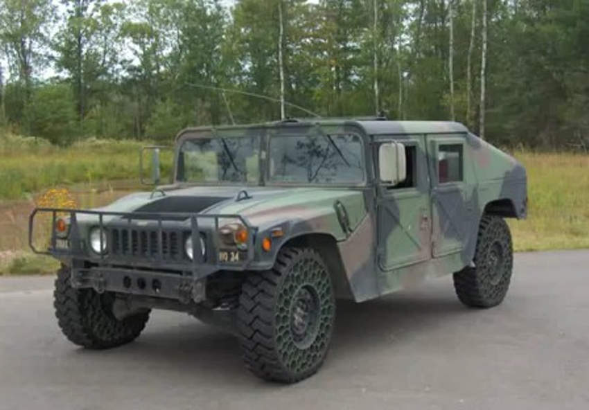 Humvee-airless-tire-test