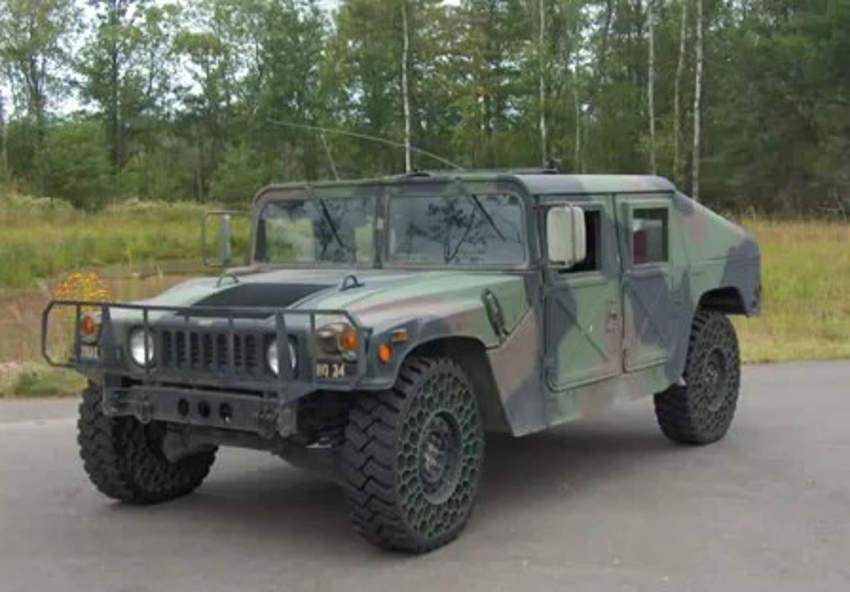 Humvee-airless-tire-test