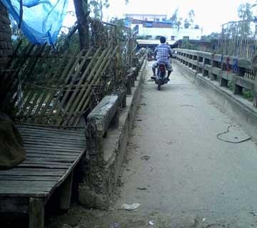 Phulbari Foot Bridge er Behal Abostha-05.07.2015