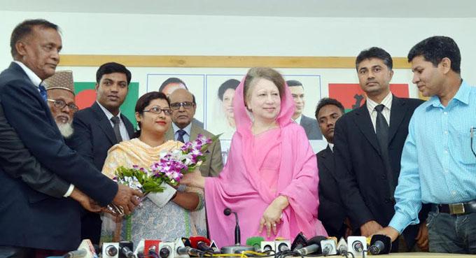 Khaleda-Zia-Rajshahi-Ayenjibi-Leaders-HOME