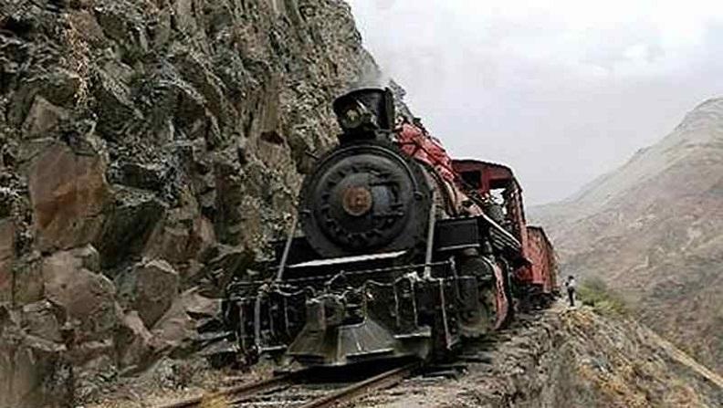 ৫. শয়তানের নাক রেলপথ