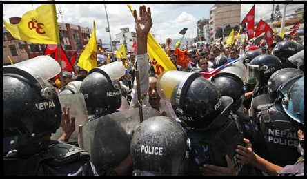 Nepal-Protest