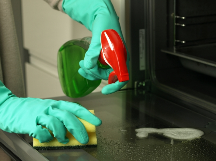 oven-cleaning-sponge-glove-kitchen