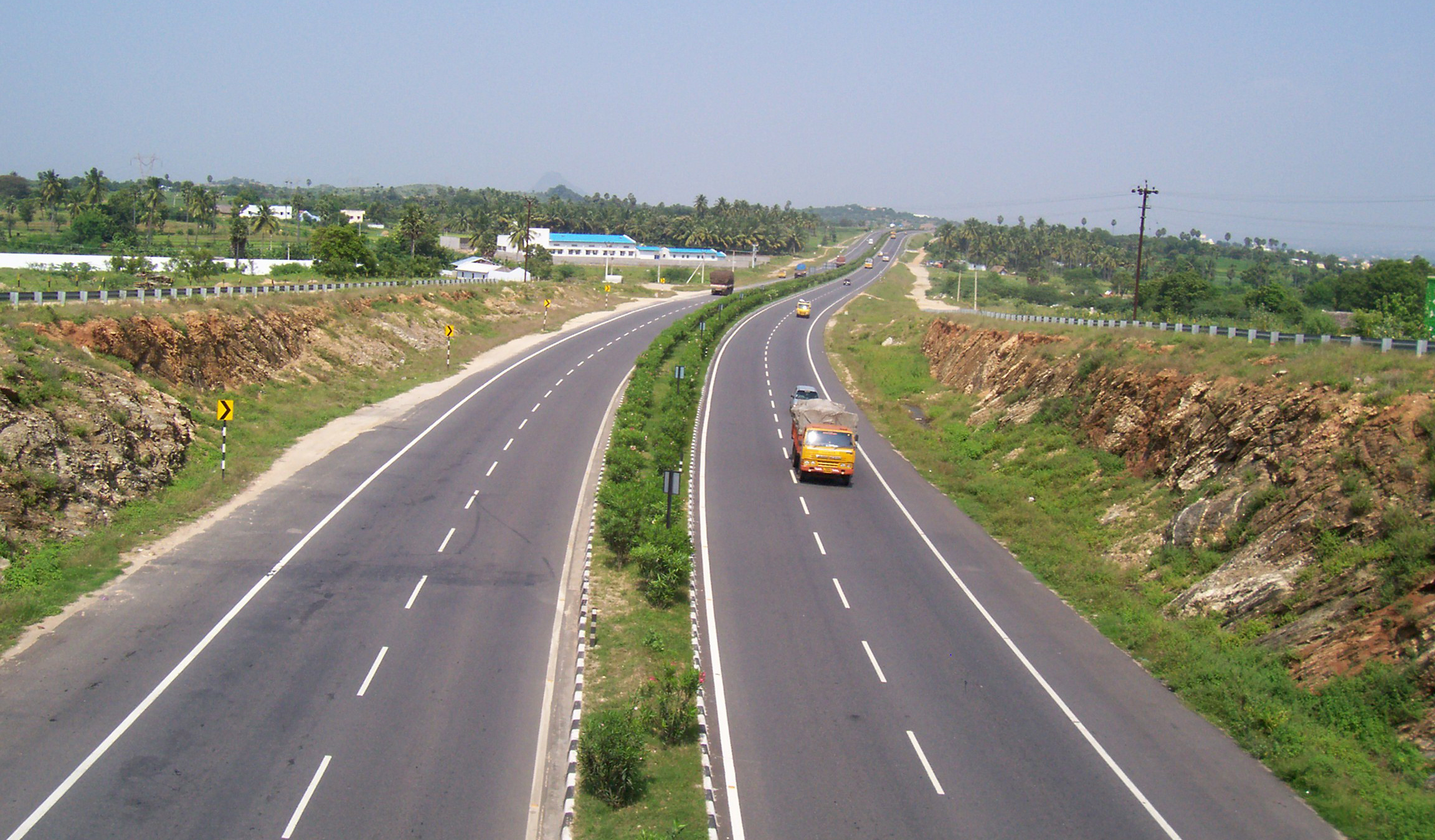 Looking-down-National-Highway-Chittode-Junction