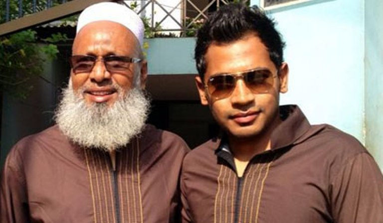 Mufique_and_father