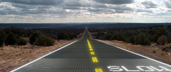 Solar--Road