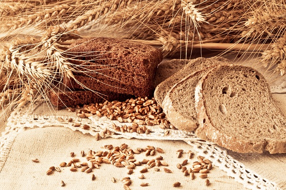 Attractive composition of wheat products