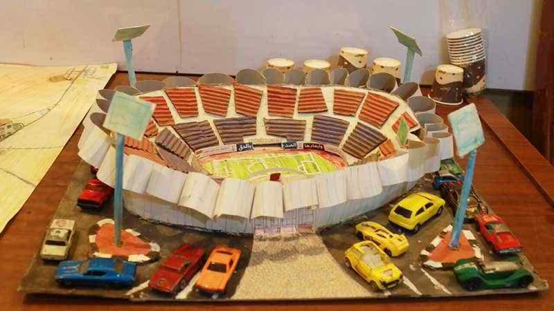আলেপ্পোর প্রিয় ফুটবল মাঠ