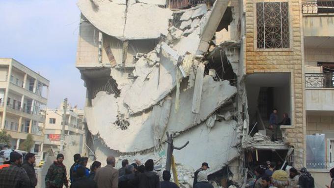 Syria-atta plane hamla