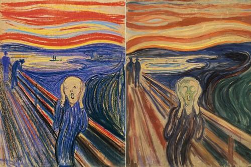 The-Scream-Pastel