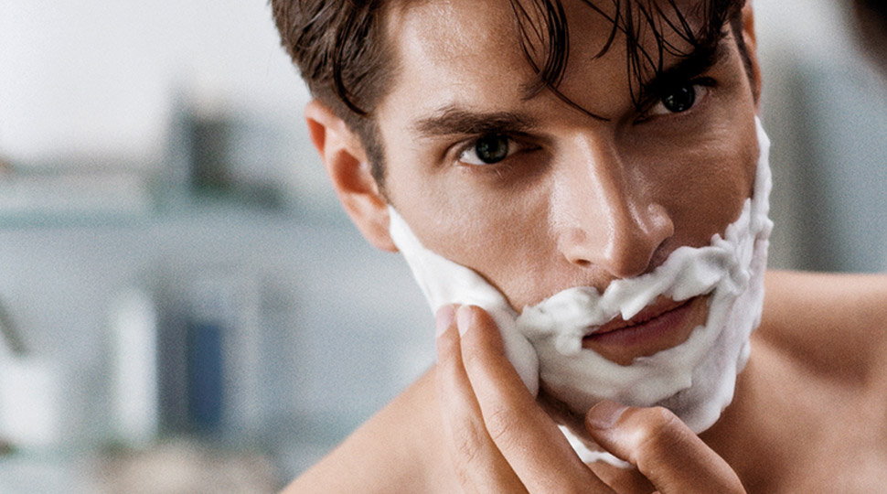shave face