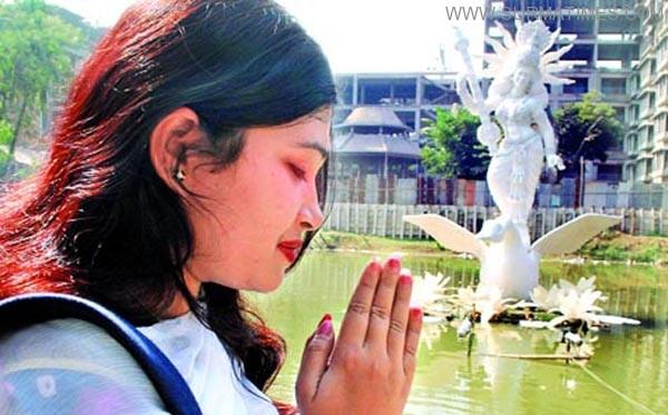 Sylhet-Swaraswati-pooja