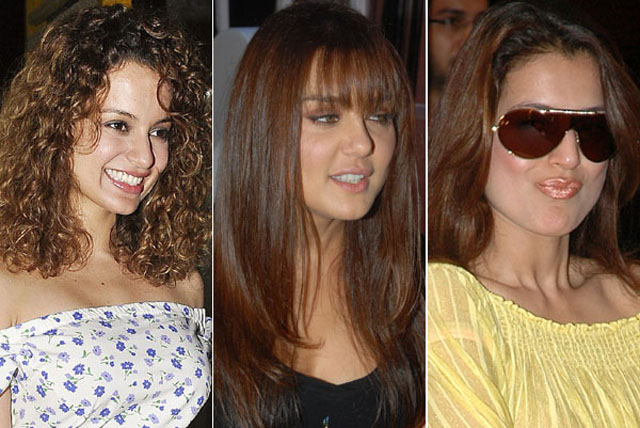 bollywood hairstyle