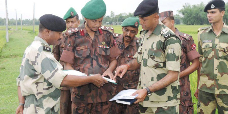 Kurigram BGB-BSF Photo, 21-04-16