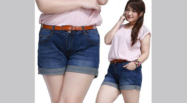 Alibaba-express-top-women-high-quality-big-plus-size-clothing-clothes-denim-short-shorts-jeans-trousers