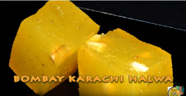 Bombay Karachi Halwa   By Vahchef   Vahrehvah.com   YouTube