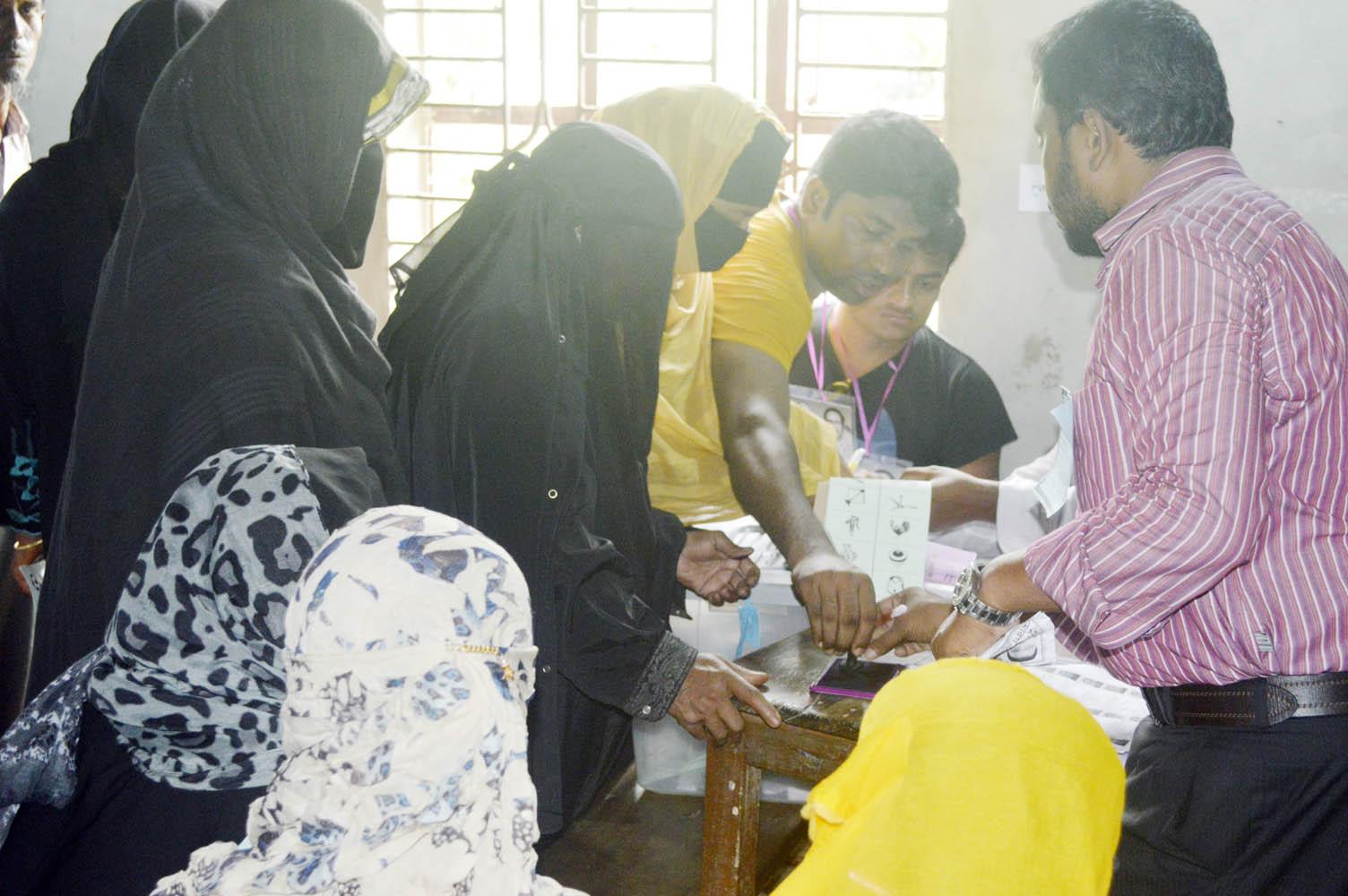 Noakhali Sonaimuri UP ELECATION Photo By Reyad 07  May-1