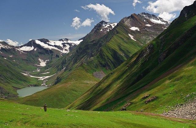 Saral Valley, Azad Kashmir, Pakistan..