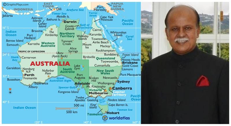 High Commissioner Kazi Imtiaz Hossain from AUSTRALIA -  01