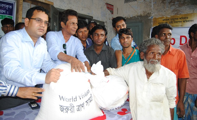 Picture on relief distribution