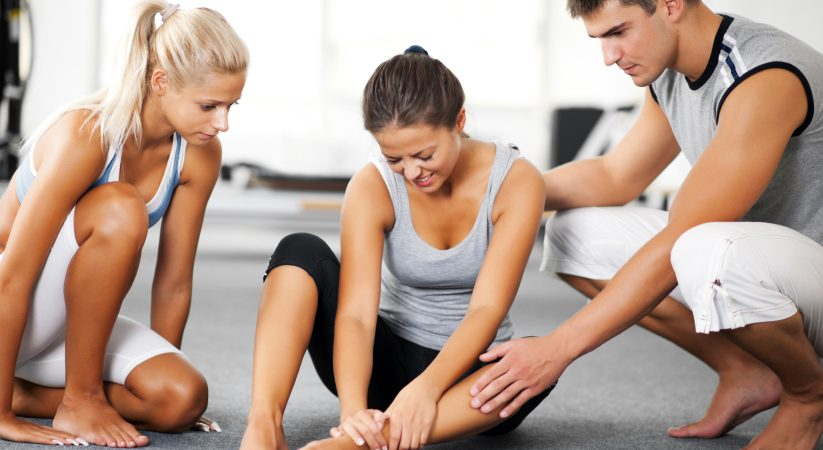 Woman sprained her ankle while doing Pilates exercises.  Two friends came to help her.   [url=http://www.istockphoto.com/search/lightbox/9786738][img]http://dl.dropbox.com/u/40117171/group.jpg[/img][/url]  [url=http://www.istockphoto.com/search/lightbox/9786766][img]http://dl.dropbox.com/u/40117171/sport.jpg[/img][/url]