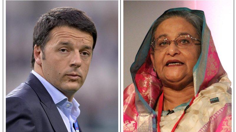 PM Sheikh Hasina PLEASE make a call to ITALY - 01
