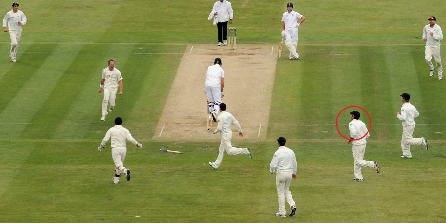 New Zealand's Neil Wagner (second left) celebrates taking the wicket of England's Nick Compton (centre) during the first test at Lord's Cricket Ground, London. PRESS ASSOCIATION Photo. Picture date: Saturday May 18, 2013. See PA story CRICKET England. Photo credit should read: Anthony Devlin/PA Wire. RESTRICTIONS: Use subject to restrictions. Editorial use only. No commercial use. Call 44 (0)1158 447447 for further information.