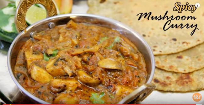 mushroom-curry-mushroom-recipe-restaurant-style-mushroom-curry-mushroom-ki-sabzi-youtube