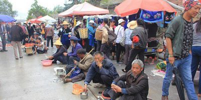 "Pic shows: Jobless and homeless come together to beg from templegoers.  It's not exactly the Beggar's Banquet but every year thousands of homeless and unemployed come together to take advantage of well-wishers offering gifts, food and money in an age old tradition.  As part of a celebration to mark the birthday of Ksitigarbha Buddha, otherwise known as Yama, the Chinese King of Hell, tens of thousands of locals flock to a temple in the town of Dali, in south-west China's Yunnan Province, to bring offerings to the spirits of the dead.  For believers the day, which falls on the 28th day of the third month of the Chinese lunar calendar, sees Yama open the gates of Hell so that the living can worship the dead.  The worshippers bring rice, chicken, fruit, wine and tea to the temple which they believe will please the spirits.  But they also give generously to the beggars, believing that it will bring them luck and good karma for doing a good deed.  Local woman Lien Ni, 54, said: ""The occasion is very important for us and we celebrate it with firecrackers and songs.  ""Over the years the beggars have started gathering here too as they can get lots of freebies which they wouldn't ordinarily get.  ""We call it the Beggars' Conference as they not only take from us but also swap items with each other.""  The annual get together, which fell on May 16 this year, also coincides with a centuries old tradition where beggars used to meet up to take part in marital arts competitions.  In ancient Chinese novels, gangs of roaming beggars known as Beggar Gangsters, congregated on Dali to take part in the fights.  Homeless man Yi Liao, 45, said: ""It's a nice story but today we don't do martial arts.  ""We meet, chat, and get well fed by the kindly temple visitors.  ""They are happy, we are happy and the spirits of the dead are happy.""  (ends)"