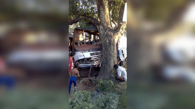 jhenidah-accident